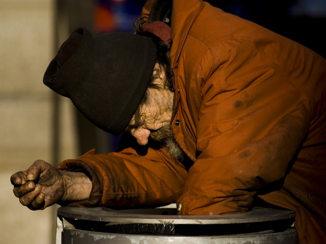 Homeless in Milan