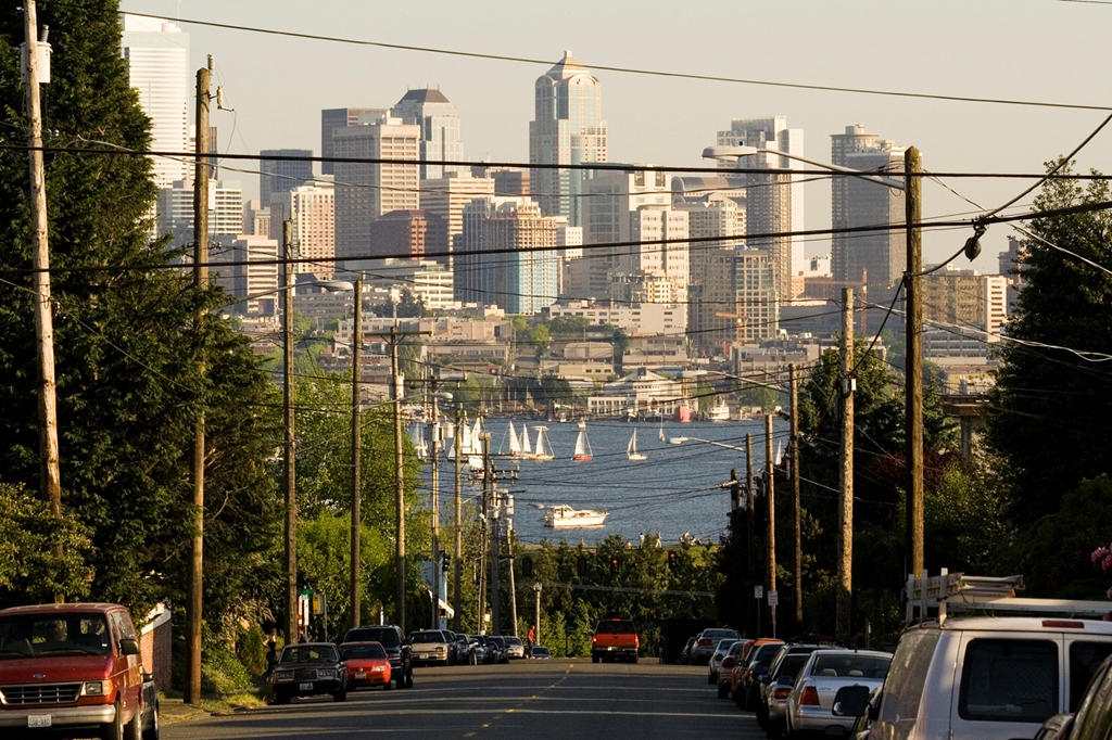 Seattle from Fremont | Vincos Images