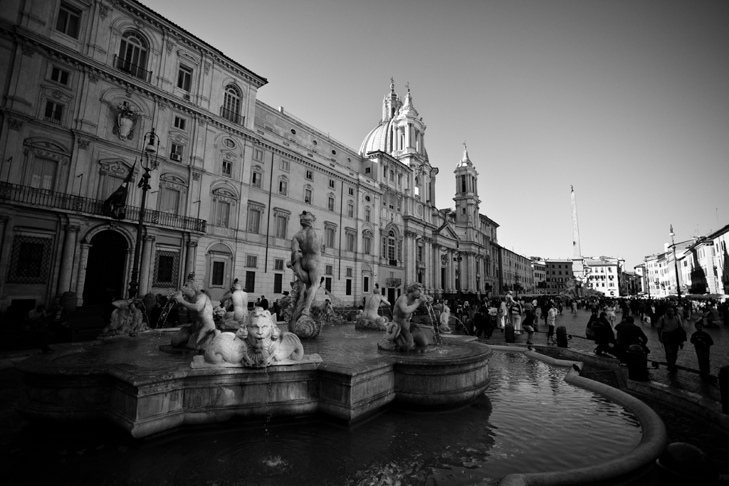 Rome The Moor Fountain Piazza Navona