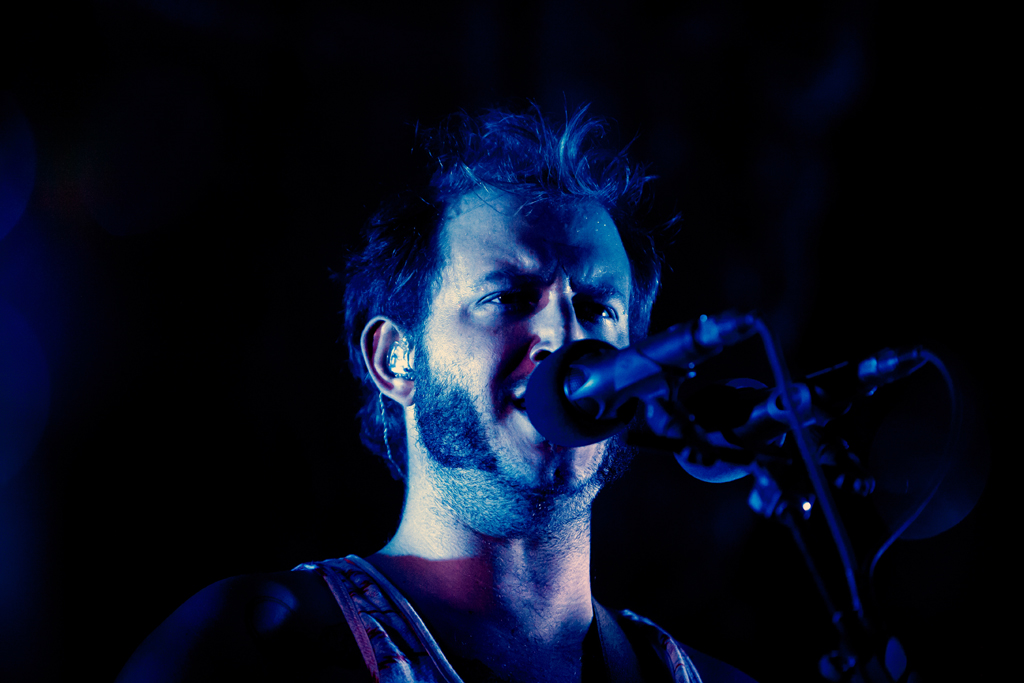 Bon Iver - Michicant live in Ferrara 2012