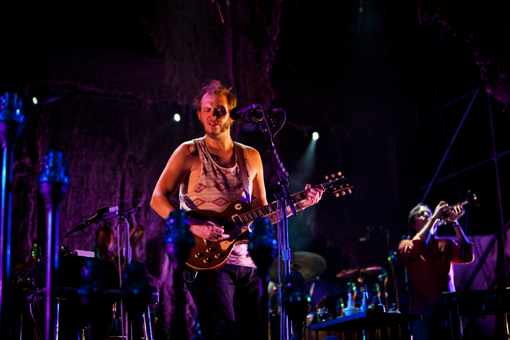 Bon Iver Towers live in Ferrara 2012