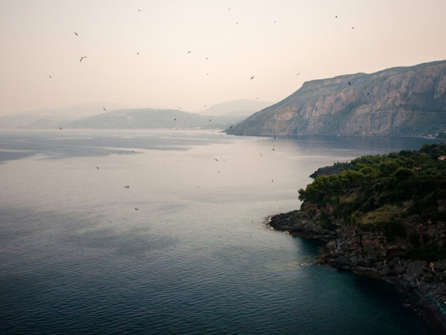 Maratea – Birds over Cersuta
