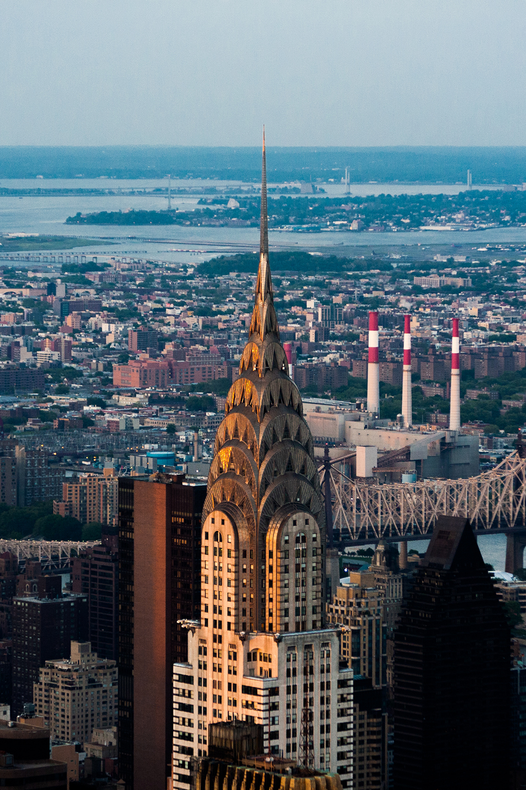 Chrysler Building at sunset