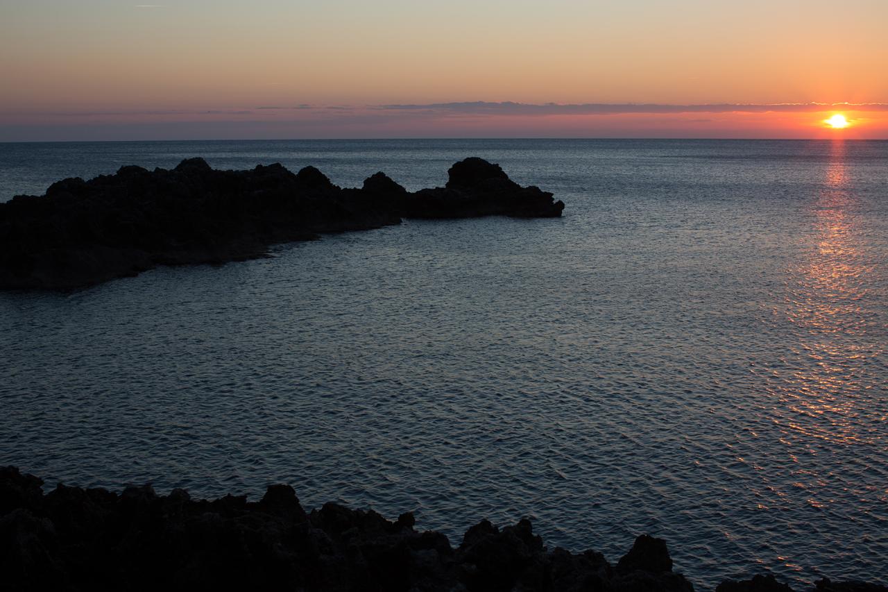 maratea darsena tramonto