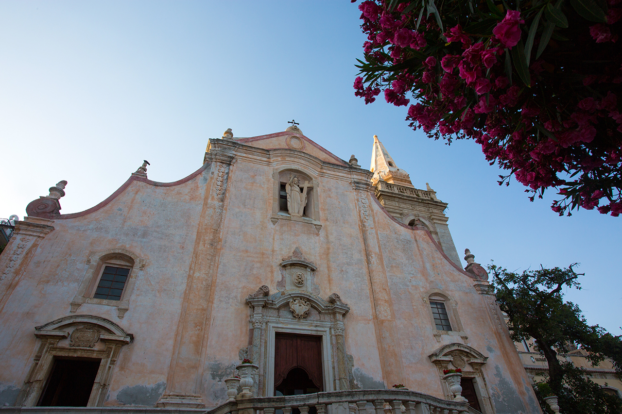 taormina san giuseppe chiesa