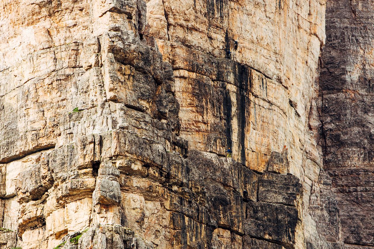 tre cime climbers