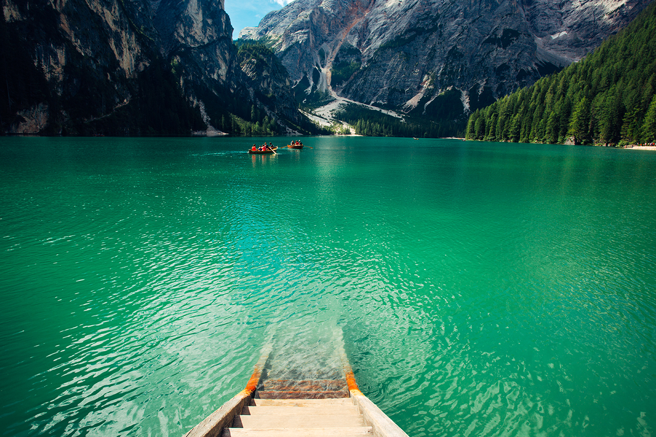 braies to the lake