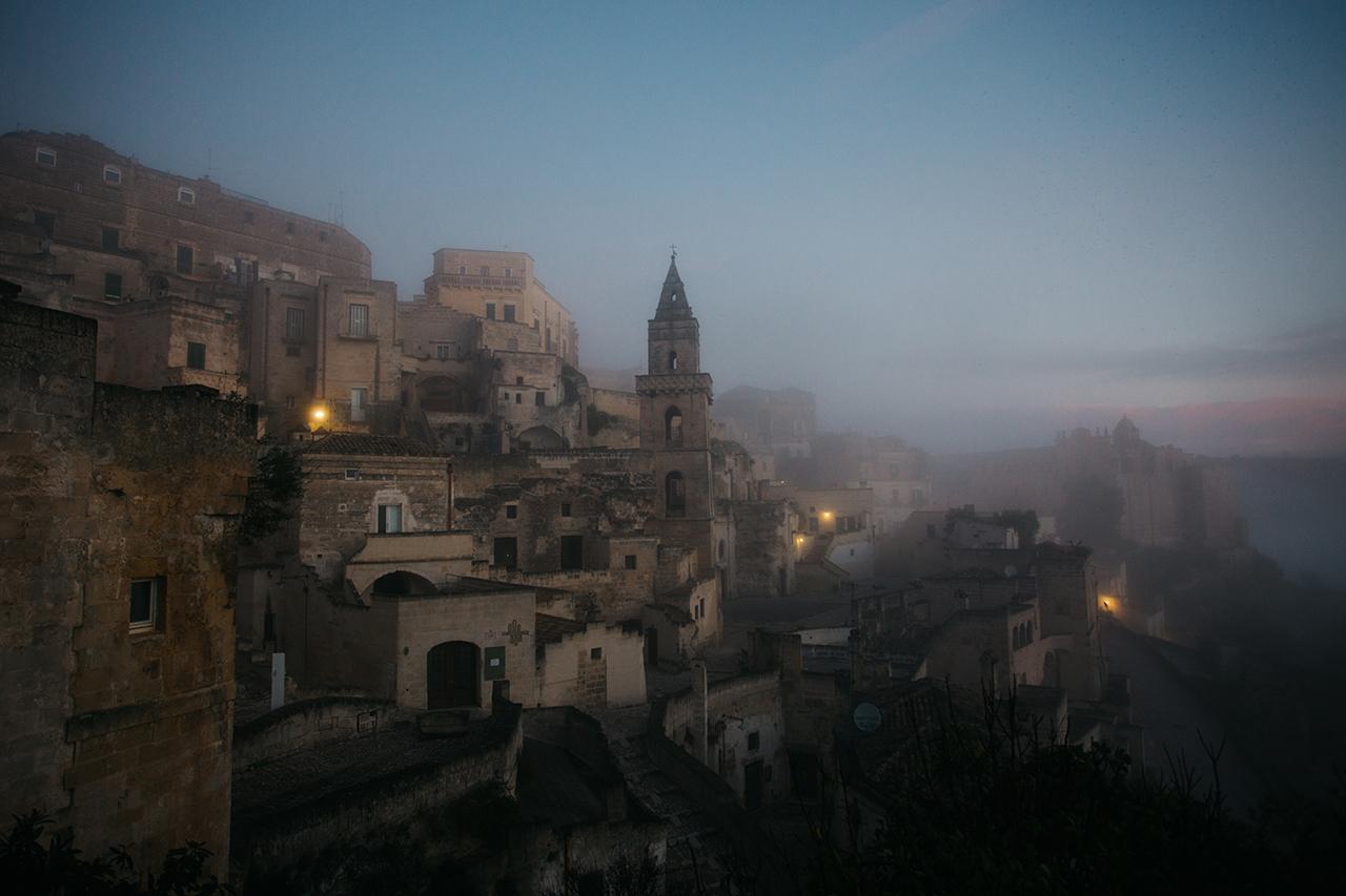 matera nebbia