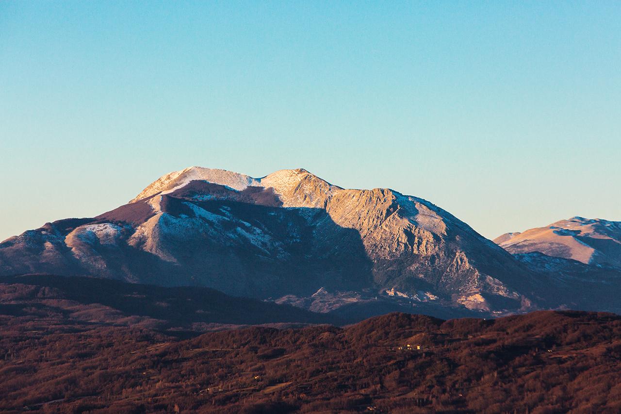 monte alpi da rotonda