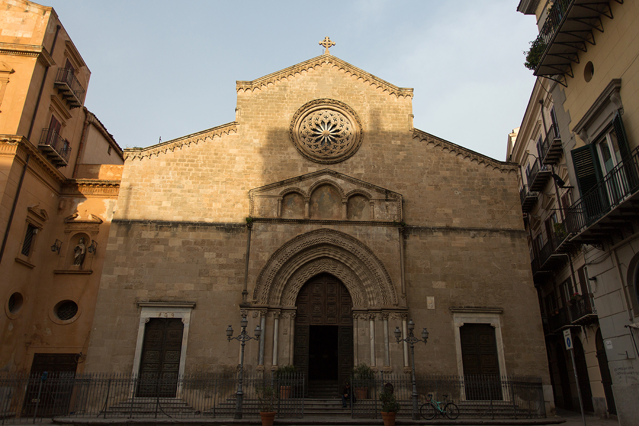 palermo chiesa s. francesco assisi