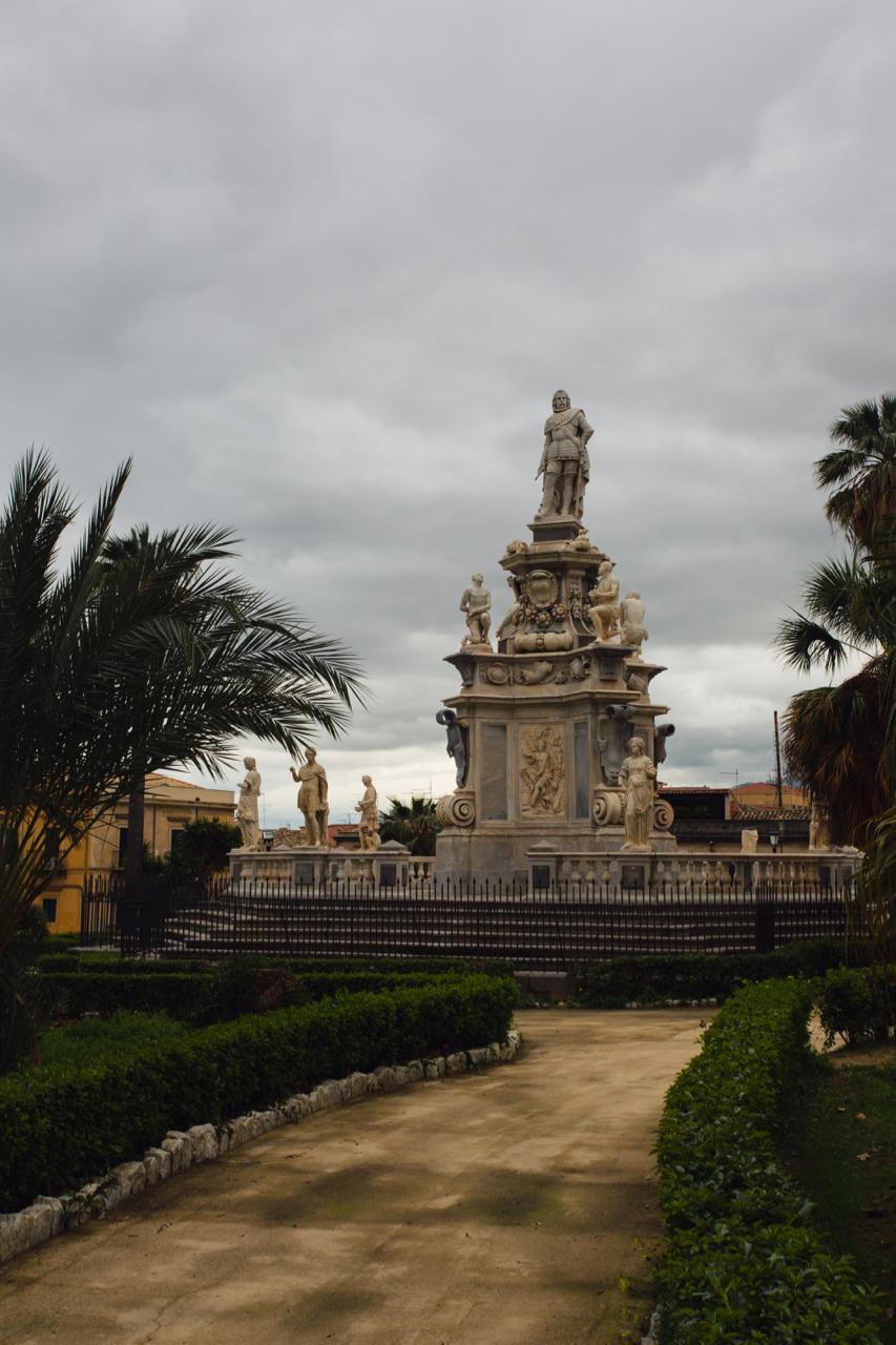 palermo statua filippo v