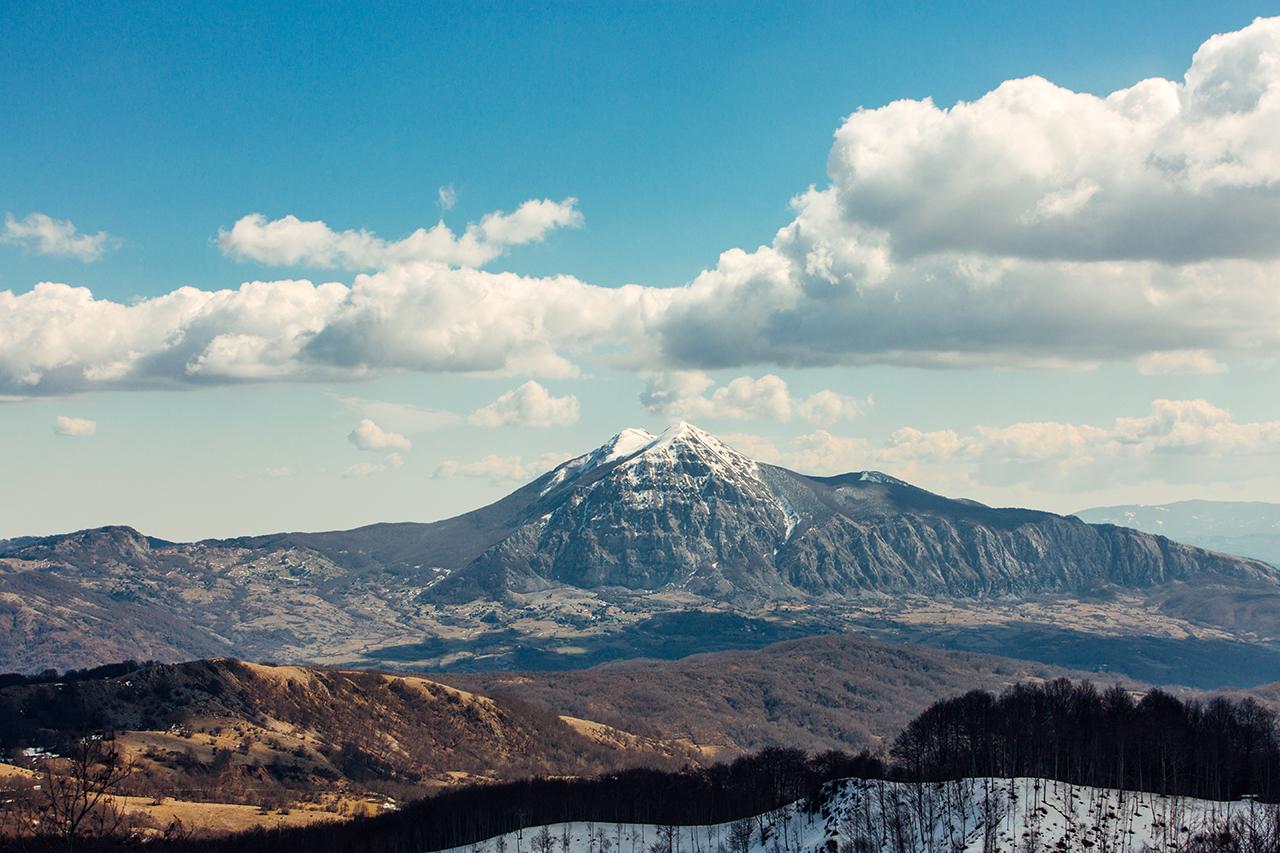 monte alpi da sirino inverno 2019