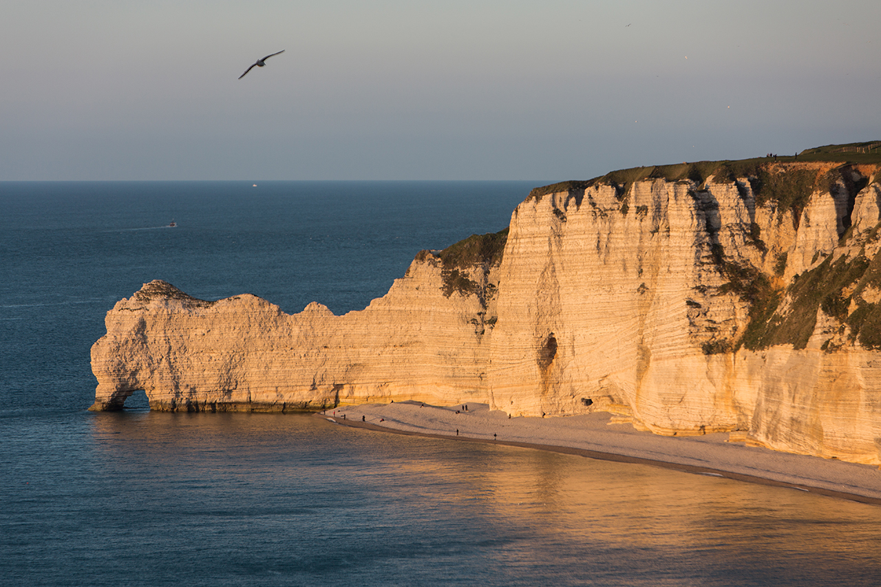 Ètretat - Golden hour
