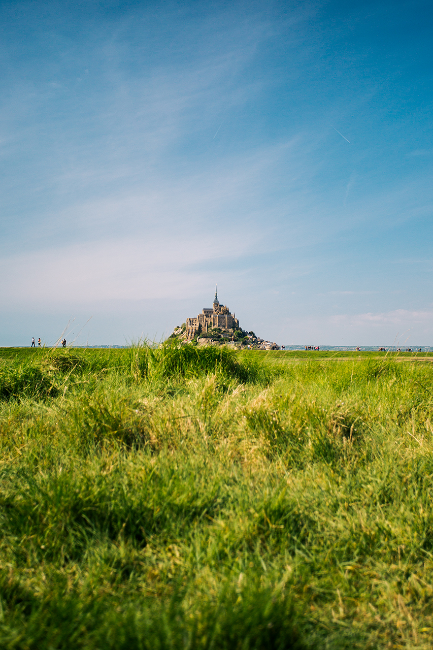 mont saint michel dreamscape