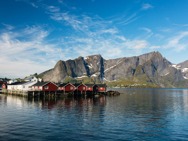 Lofoten – Blue Morning