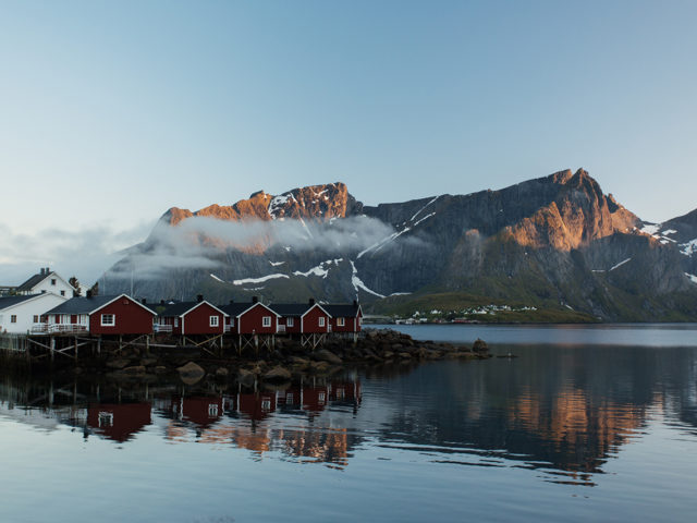 Lofoten – Hamnoy evening