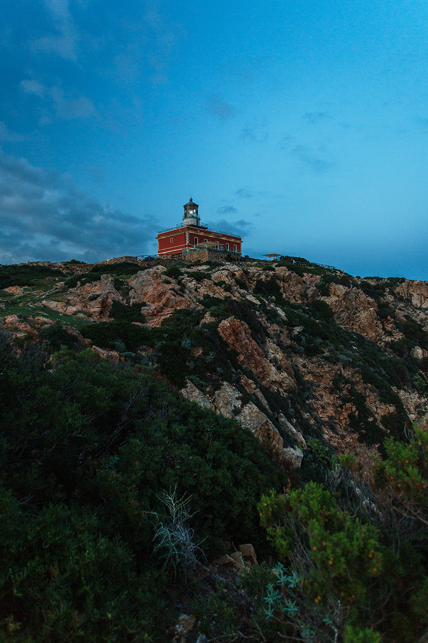 Capo Spartivento Lighthouse