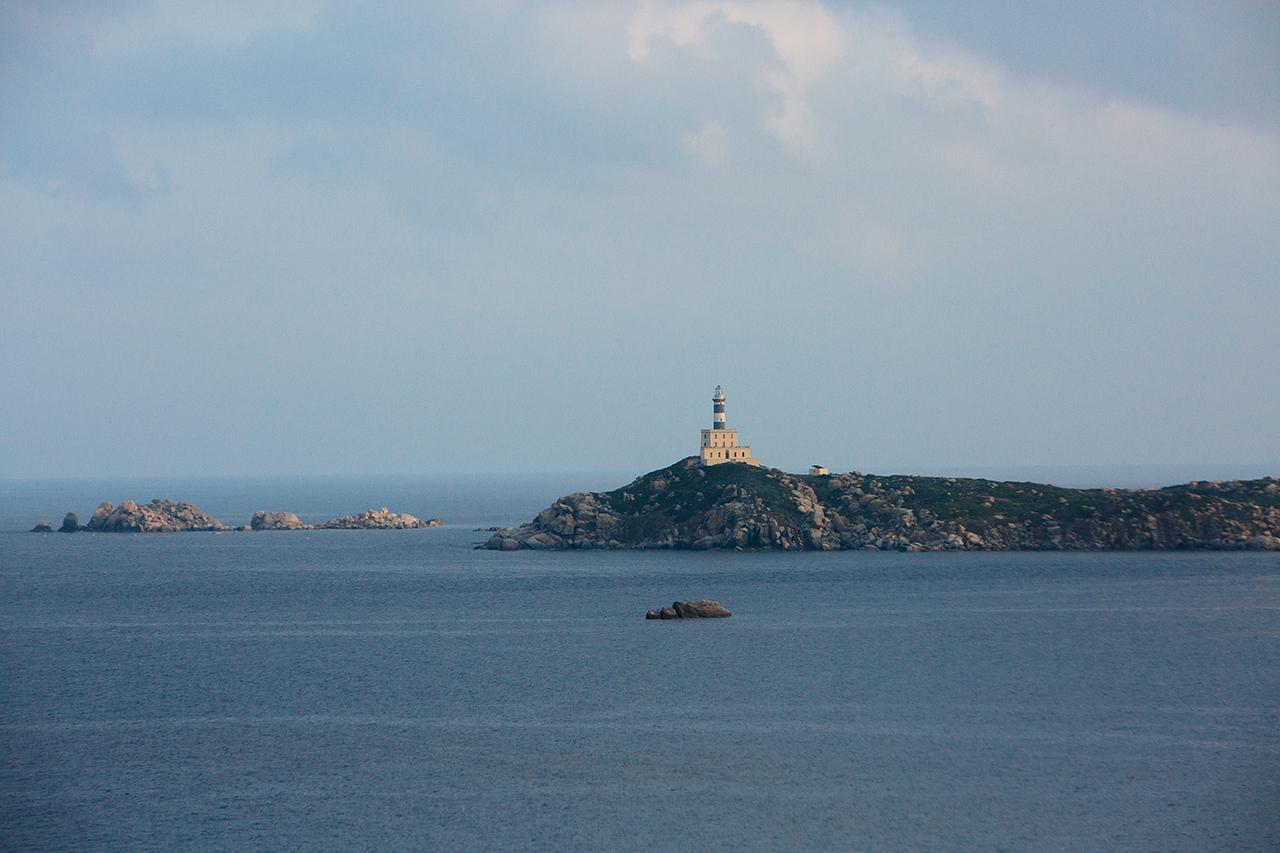sardinia lighthouse isola dei cavoli