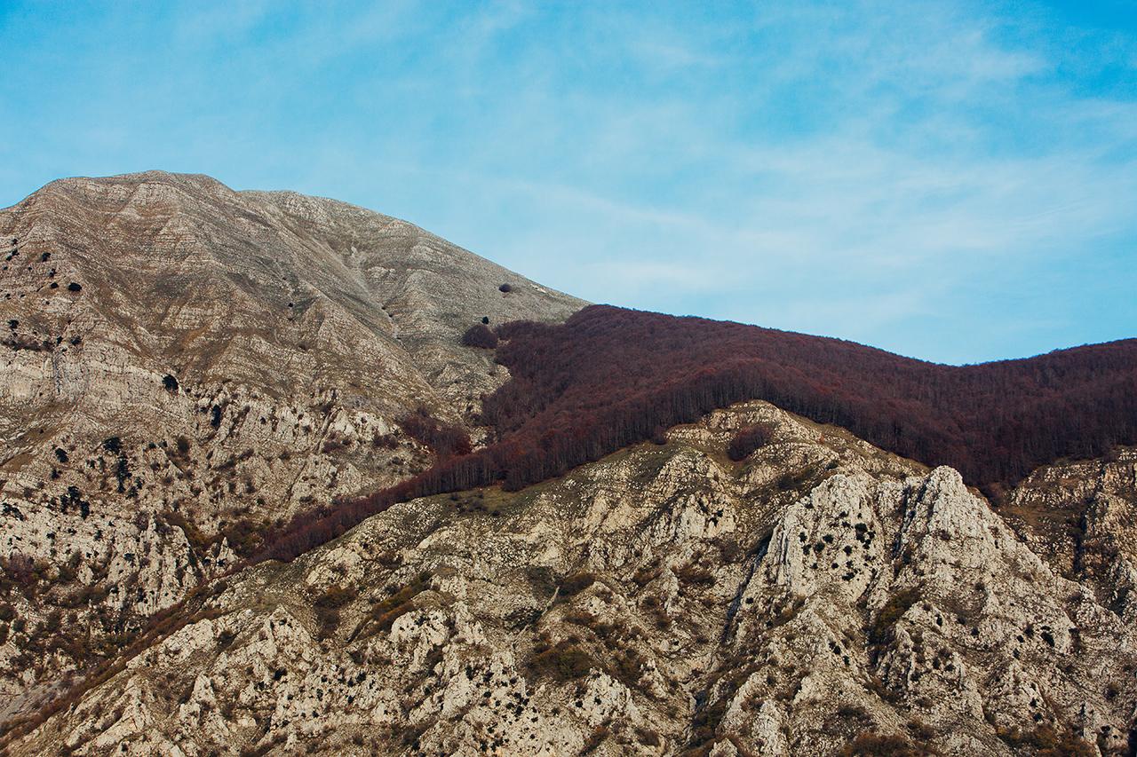 monte alpi red shoulder