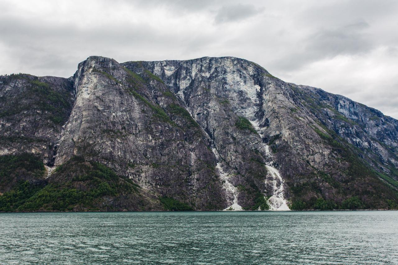 Gudvangen Fjords - Cold Mountain