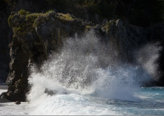 Maratea – Splashing waves