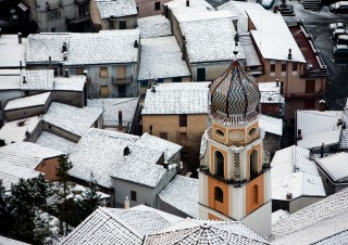 Lauria – S.  Giacomo under the snow