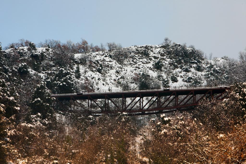 Lauria old railroad bridge
