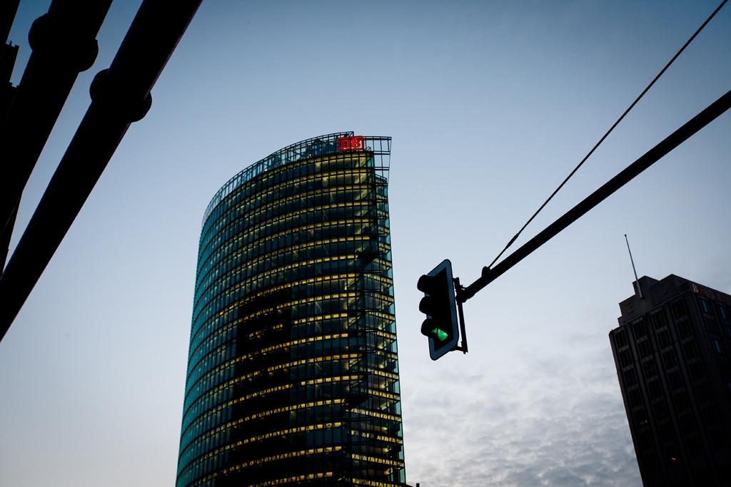 Berlin DB Building