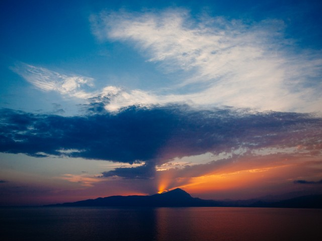 Maratea – End of summer sunset