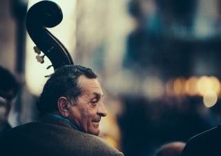 Street Bass Player