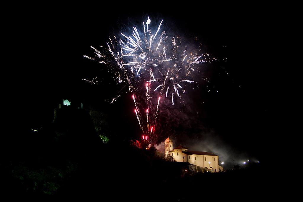 madonna assunta's fireworks