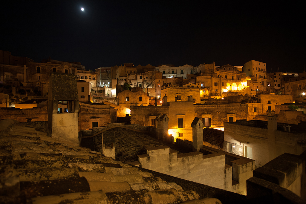 a night in the sassi matera