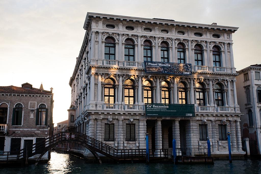 venezia palazzo ca rezzonico