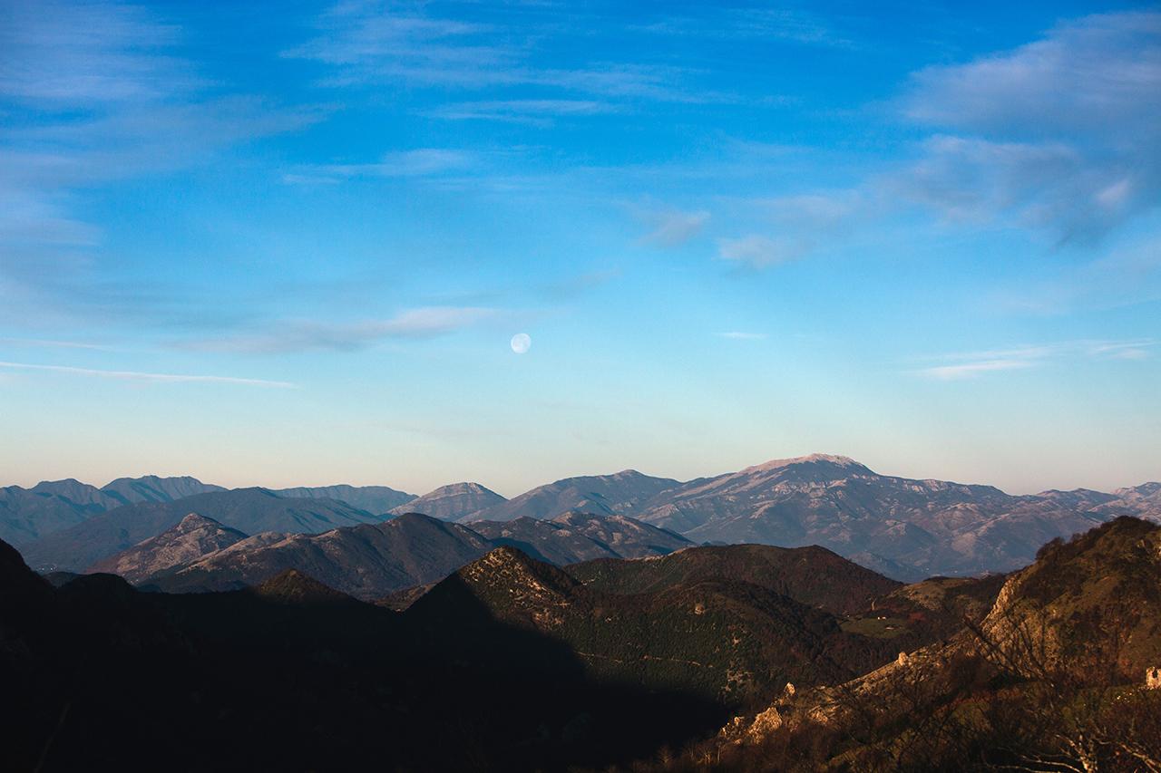 basilicata paesaggio lunare