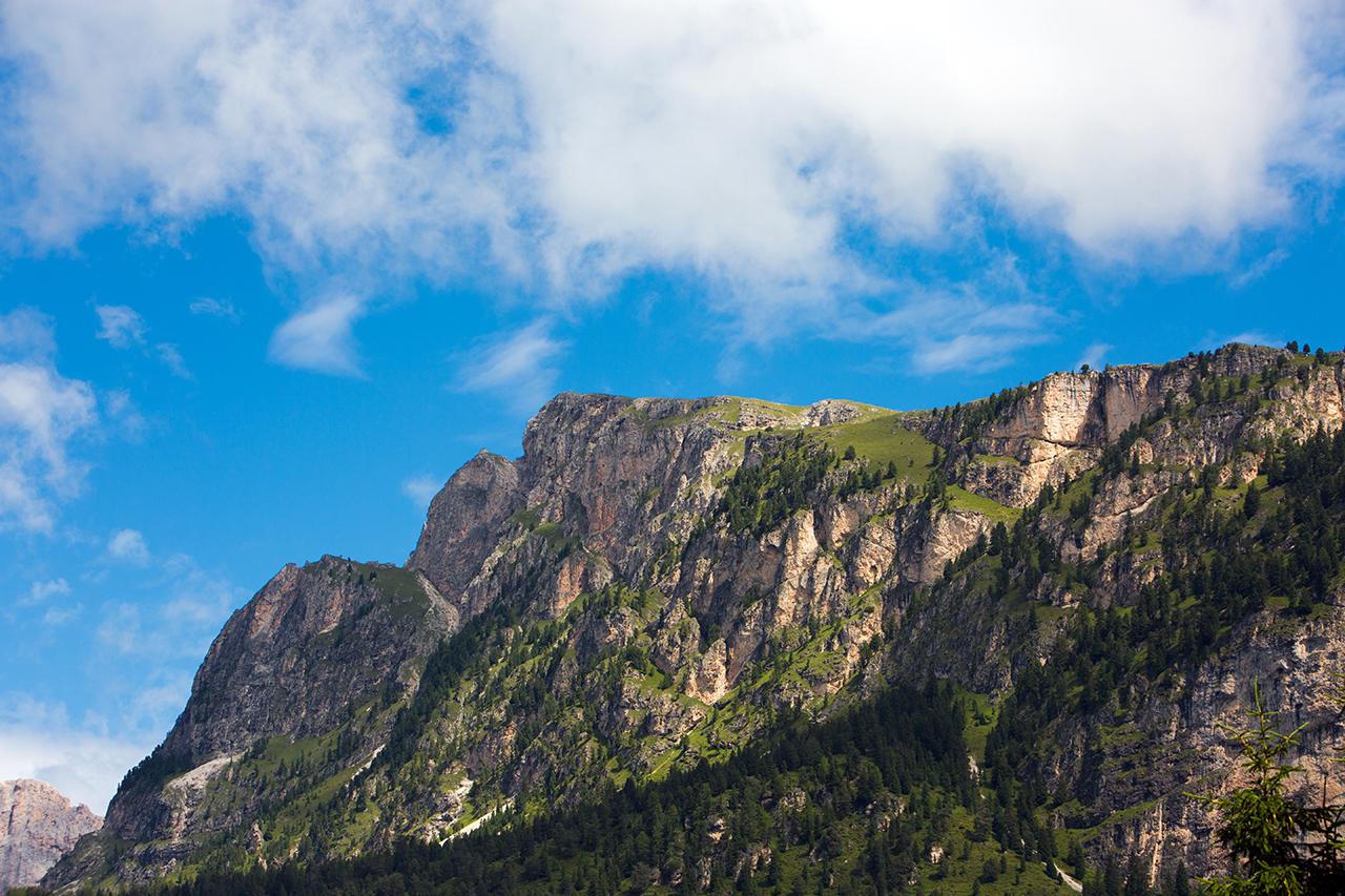 val gardena mountains selva