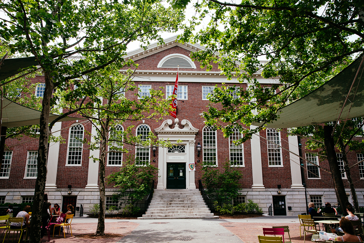harvard lehman hall