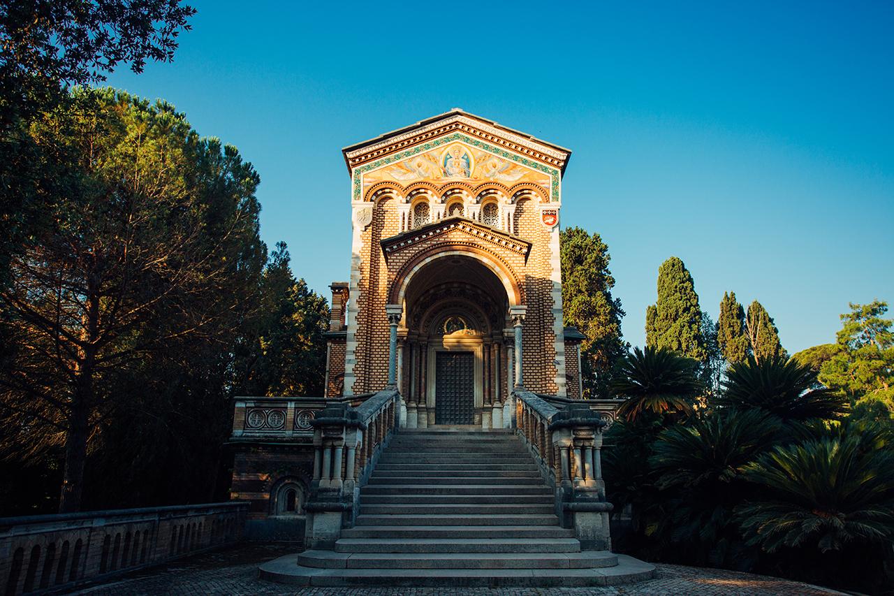 villa pamphili chapel