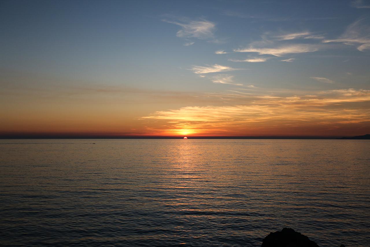 cala del citro sunset