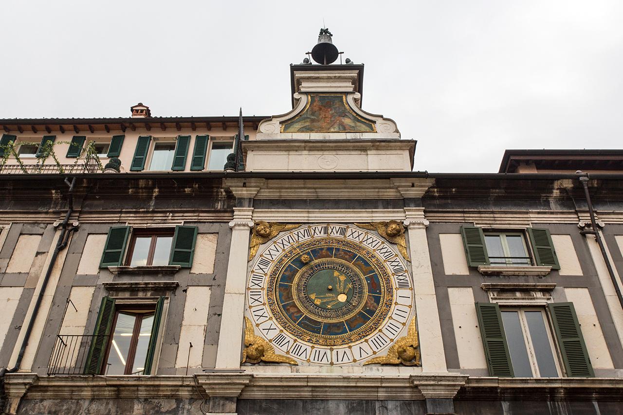 brescia torre orologio