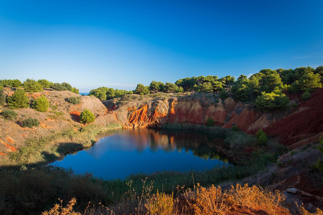 lago cave di bauxite otranto