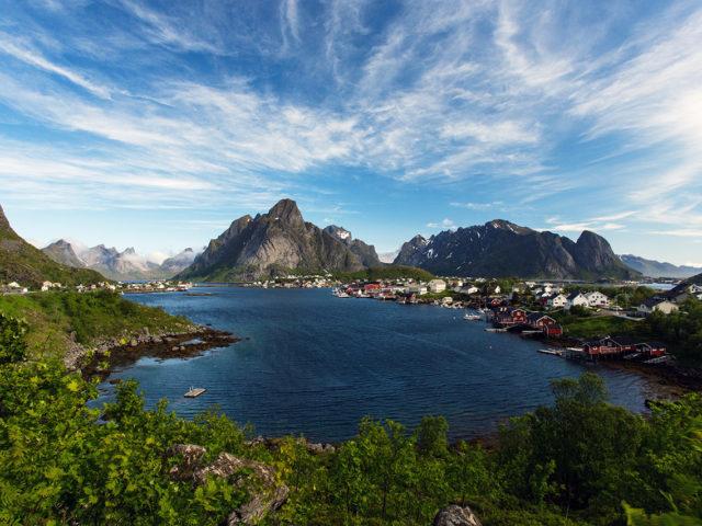 Lofoten – Reine landscape