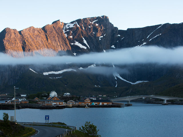 Lofoten – Sunset over Sakrisoy