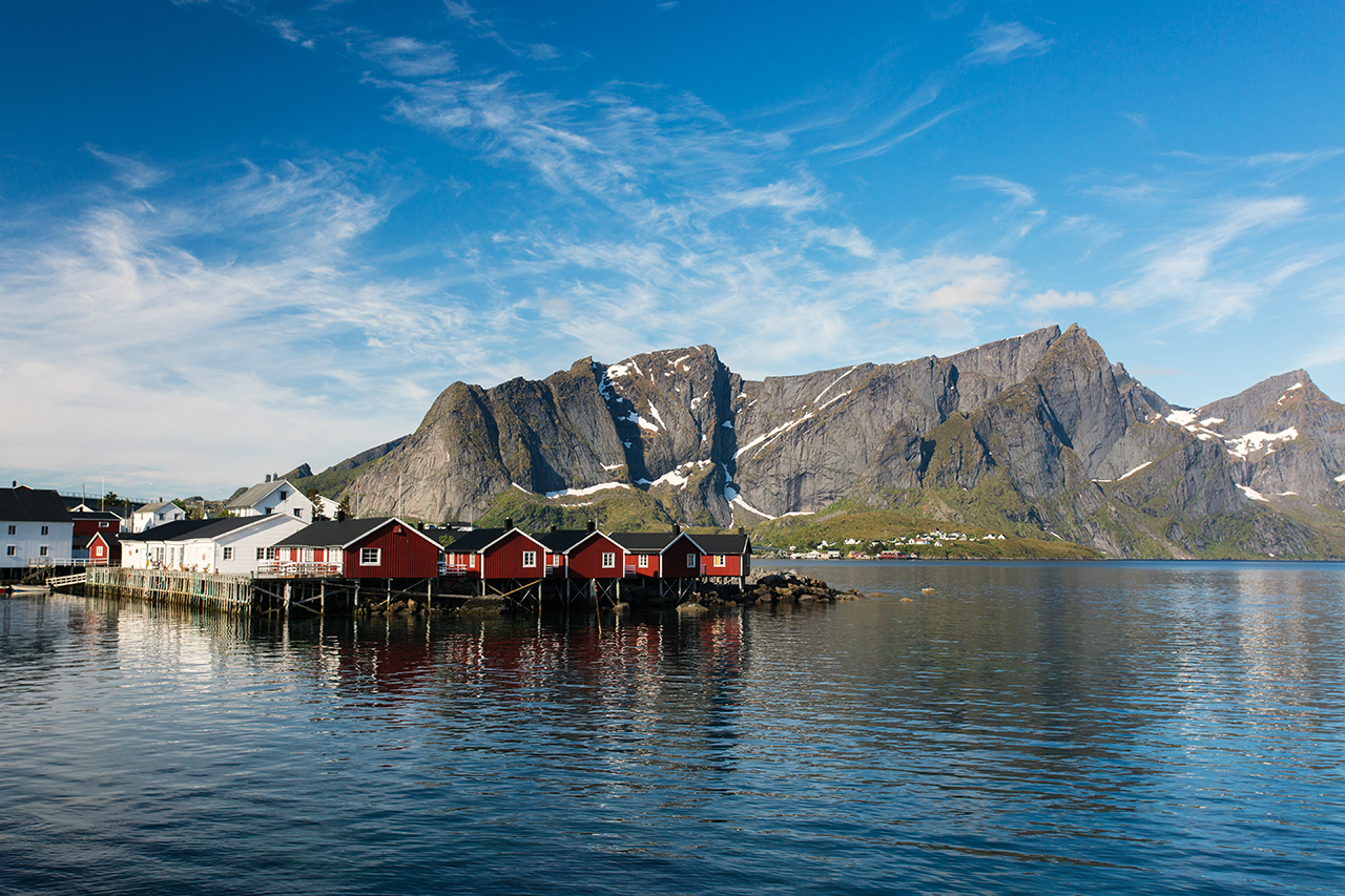 lofoten blue morning