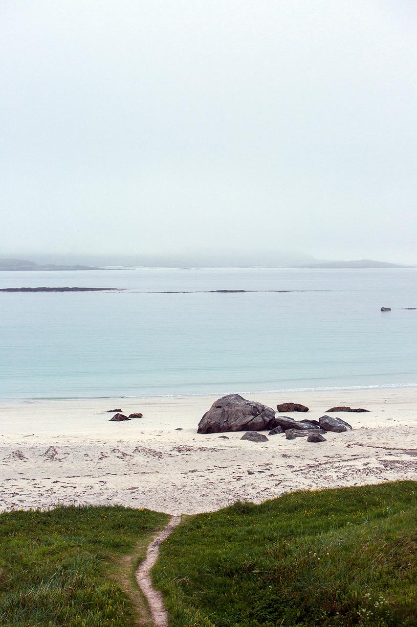 ramberg beach foggy